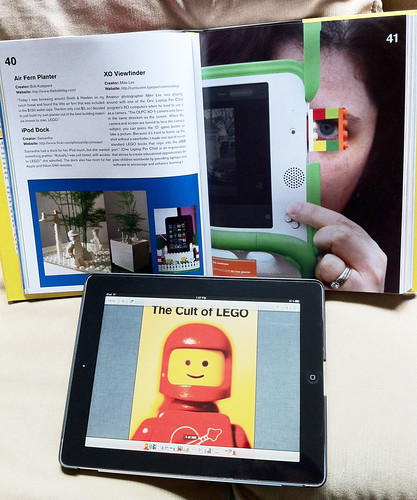 We're immortalized in the new 'Cult of LEGO' book! | by curiouslee