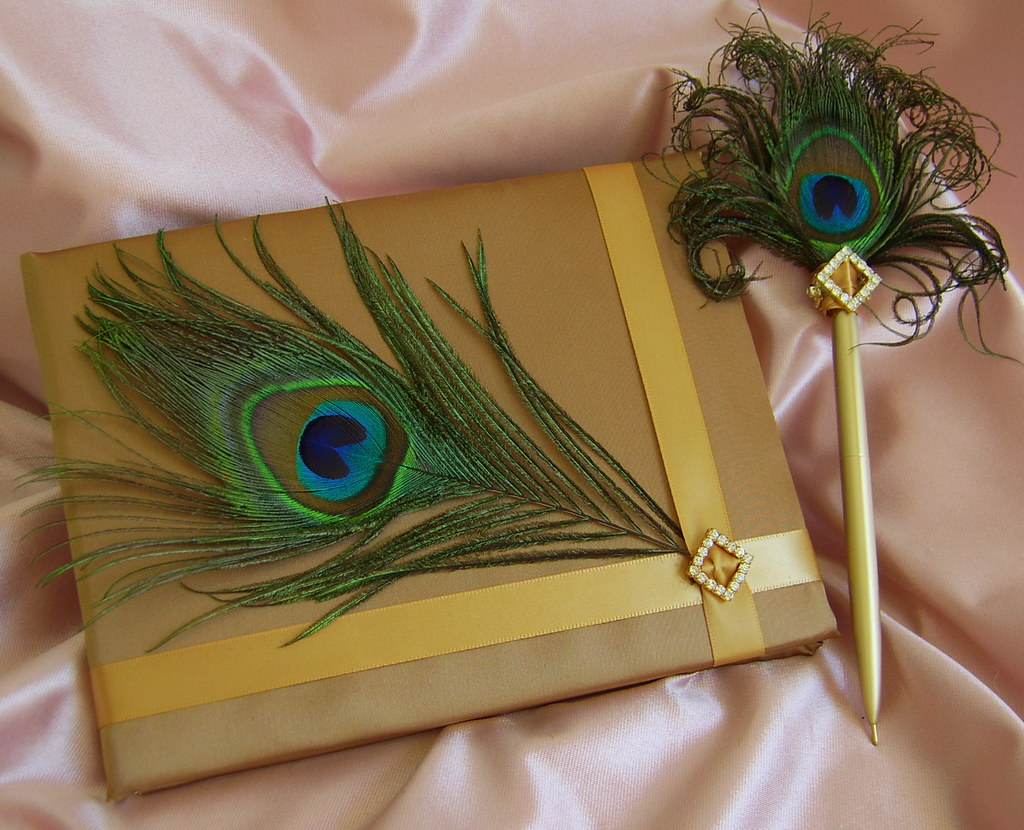 Peacock Wedding Peacock Feather Wedding Accessory Peacoc Flickr