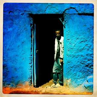 Too much kat made him mad - Hipstamatic - Harar Ethiopia | by Eric Lafforgue