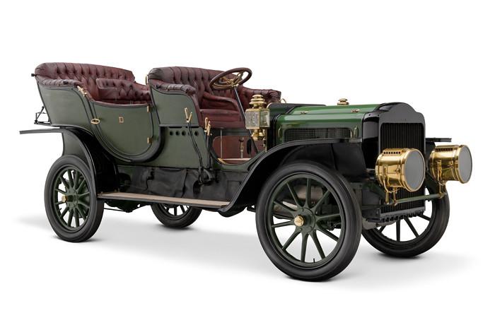 1907 White Model G Steam Touring Car Description Steam Po Flickr