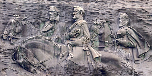 Stone Mountain Carving | by jimbowen0306