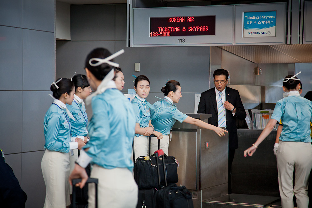 Image result for korean air flight attendant
