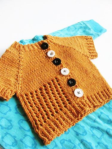 Blizzard baby cardigan | by Yarn-Madness