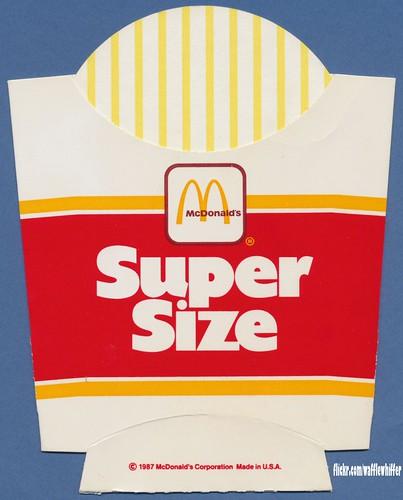 McDonald Super Size Me