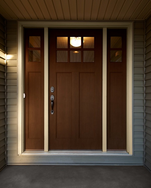 craftsman style front door mcallister wayne homes flickr