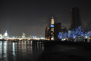The OXO Tower, the Thames, and the City at Night | by 67Jewels