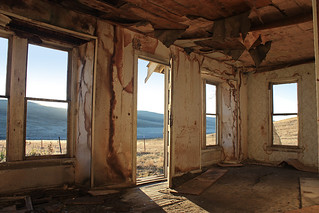Abandoned - Room with a view - Eastern Oregon | by Electric Crayon