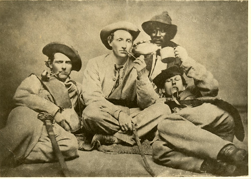Photograph of Members of the 57 Georgia Regiment