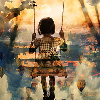 Swinging on a Cloud | by hana1080 very tired ... posting slowly
