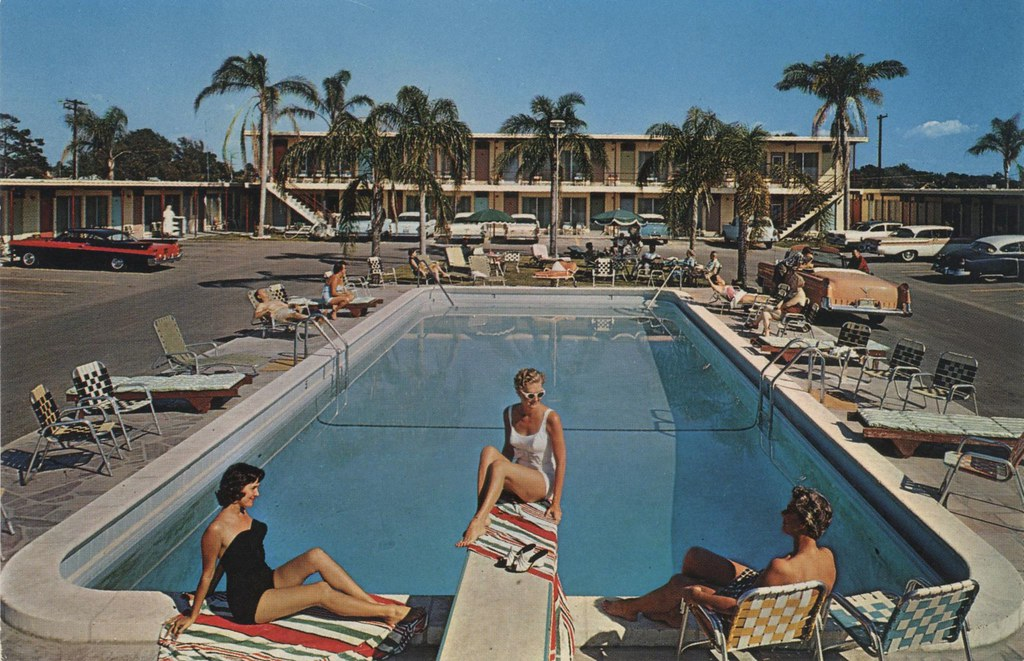Plaza Inn Motel - St. Petersburg, Florida
