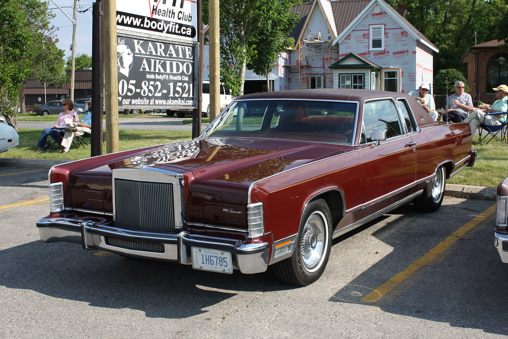 1979 Lincoln Continental Town Coupe 2 Door Richard Spiegelman Flickr