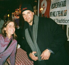 With Mike Piazza | by Julie Rubes