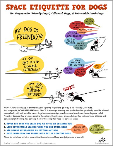 Space Etiquette For Dogs | by lili.chin
