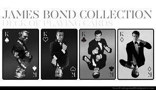 James Bond Playing Card Collection - Four of a Kind | by Joe D!