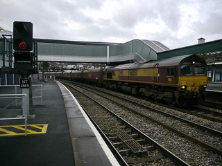 66051 at Newport Station 19th Jan 2012 | by Gareth Lovering Photography 4,000,423