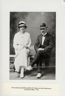 William and Ethel Baxter – just married 1914 | by Baxters - Moray Connections