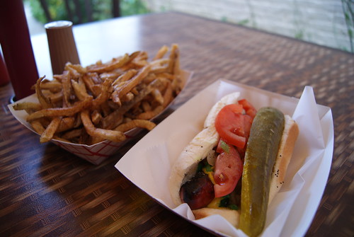 Hot Dogs Duck Fat Fries Chicago