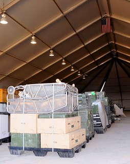 Pallets of equipment | by United States Forces - Iraq (Inactive)