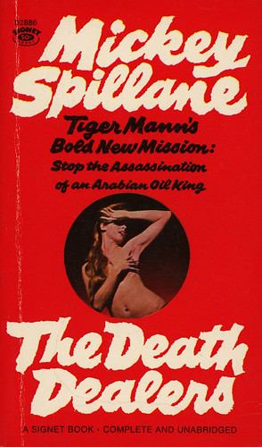 Signet Books D2886 - Mickey Spillane - The Death Dealers | by swallace99