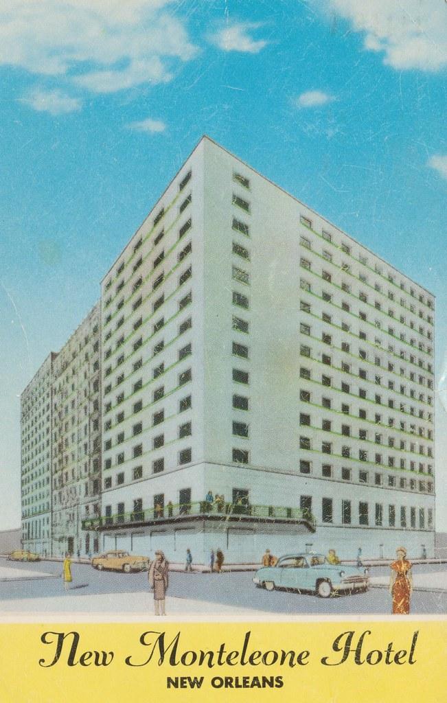 New Monteleone Hotel - New Orleans, Louisiana