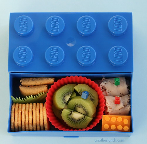 Lego Bento box lunch | by anotherlunch.com