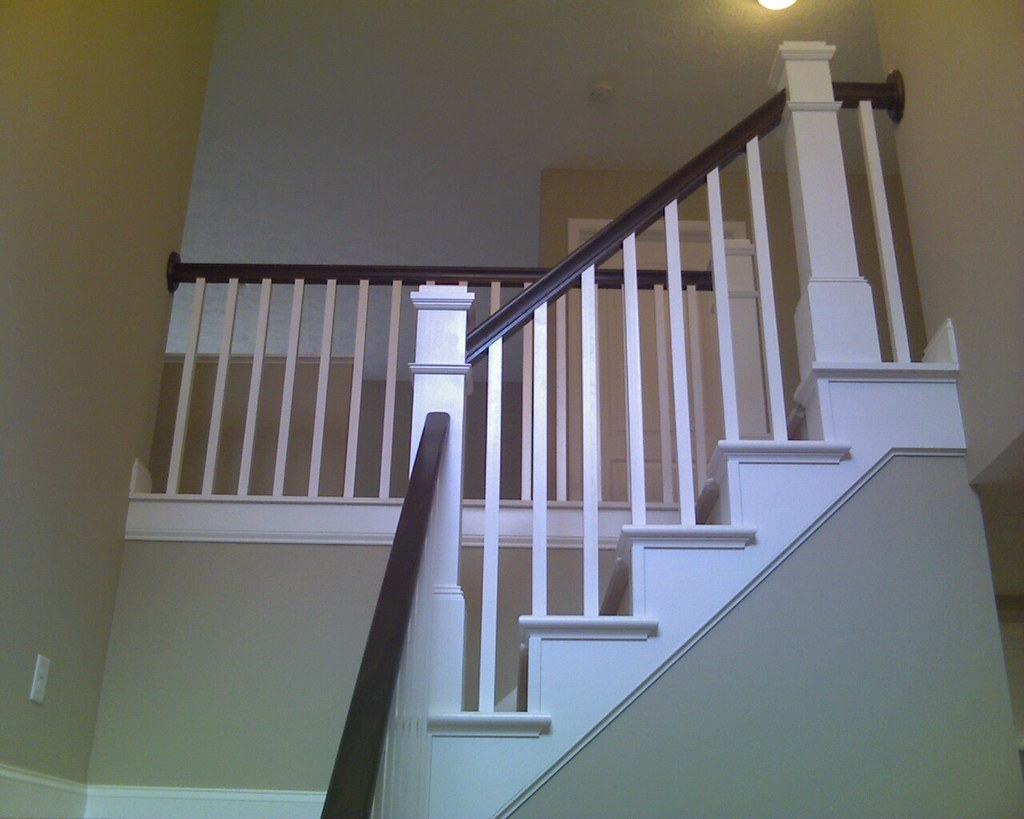 ... Craftsman Style Open Staircase   By Wayne Homes