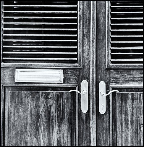 DOS PUERTAS (TWO DOORS) | by Black and White Fine Art