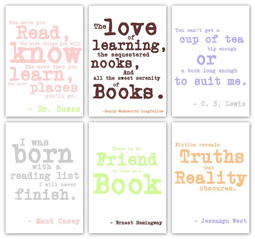 Sayings For Baby Shower: Lil' Baby Bookworm Baby Shower - Quote Prints
