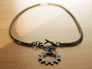 Finished Gear Necklace | by orijinal