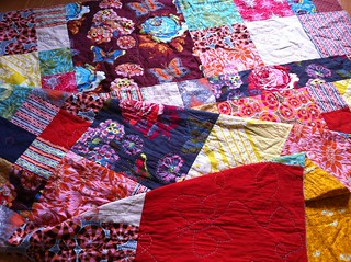Loulouthi Quilt - handquilting | by Fiona @ Poppy Makes