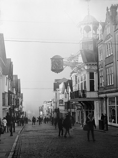 Morning Fog, Guildford High Street | by relistan