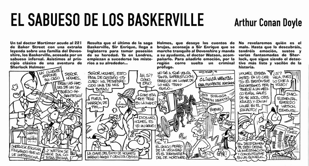 Resultat d'imatges de El sabueso de los Baskerville