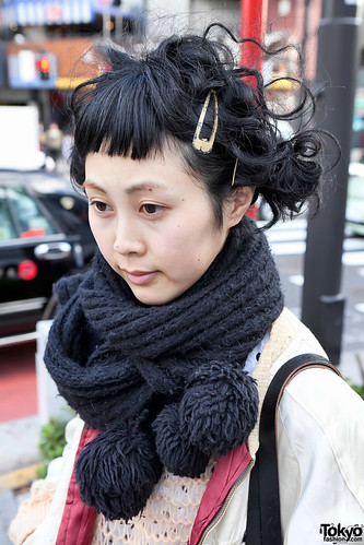 Cool Japanese Hairstyle in Harajuku | by tokyofashion