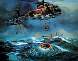 Atlantic Ocean Rescue | by The National Guard