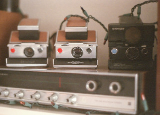 My SX-70s and Stereo | by Tim Fitzwater