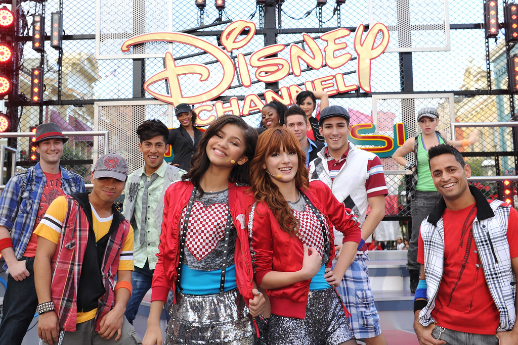 DISNEY CHANNEL STARS FROM 'SHAKE IT UP' SHINE IN DISNEY PA… | Flickr