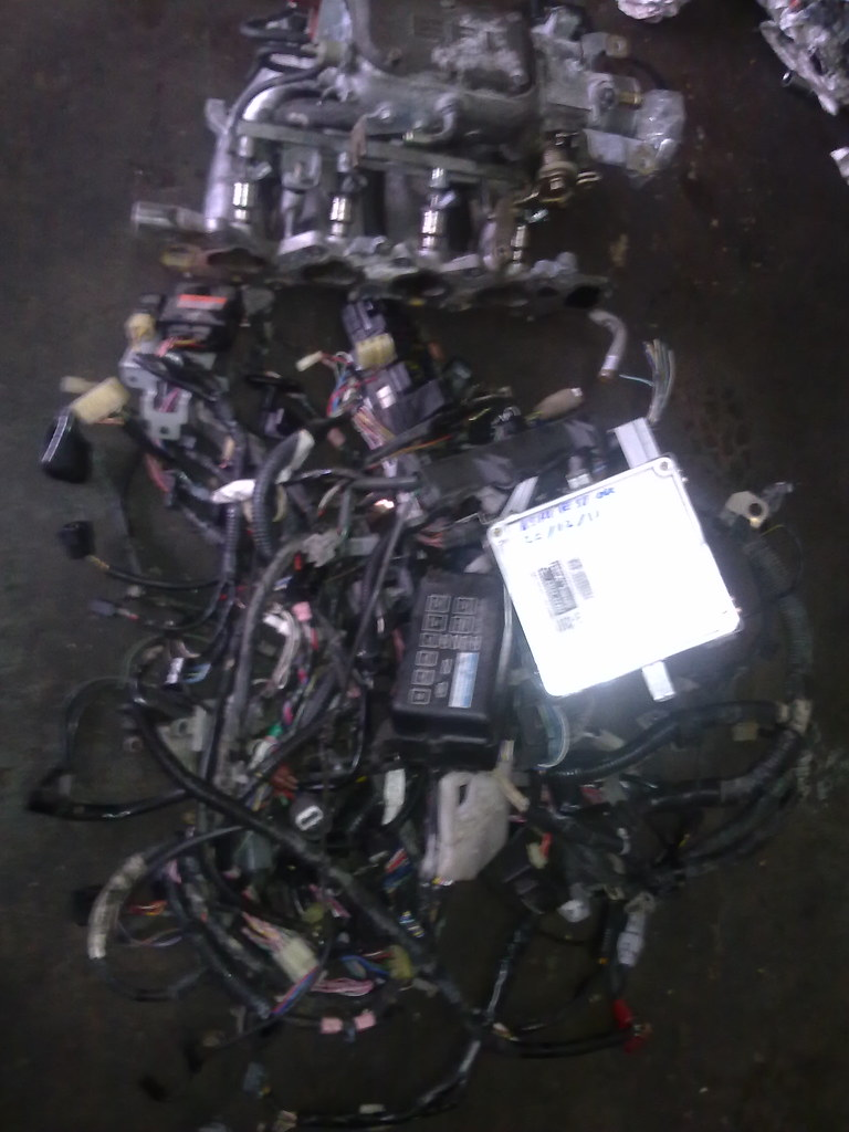 ... charade G200 detomaso 1.6 HD manual complete engine wiring+ecu | by  A.S.RI.