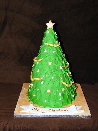 Christmas Tree Cake Designs