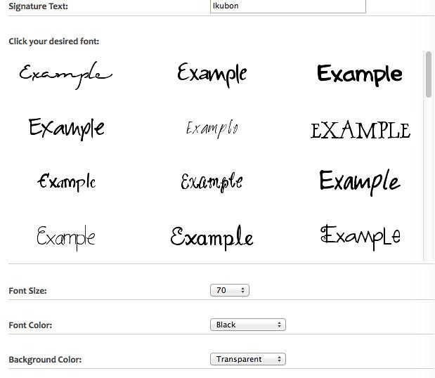 cool signatures generator - Khafre