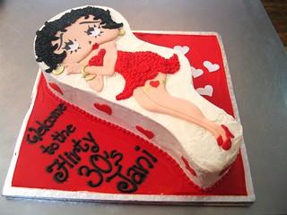Betty Boop Shaped Cake Pan