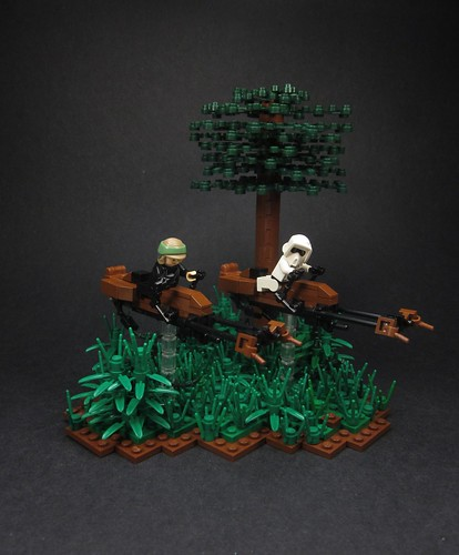 Speeder Bike Chase | by Walter Benson