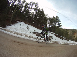 Climbing tempo ride in Boulder with Carson | by Jeff Kerkove