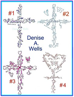 Cross tattoo designs by Denise A. Wells | by ♥Denise A. Wells♥