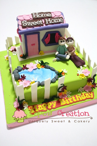 sweet home 3D cake | by Ipoet