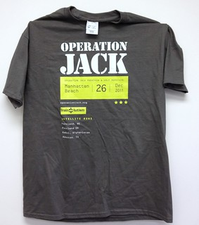 Operation Jack Marathon t-shirts | by jakerome