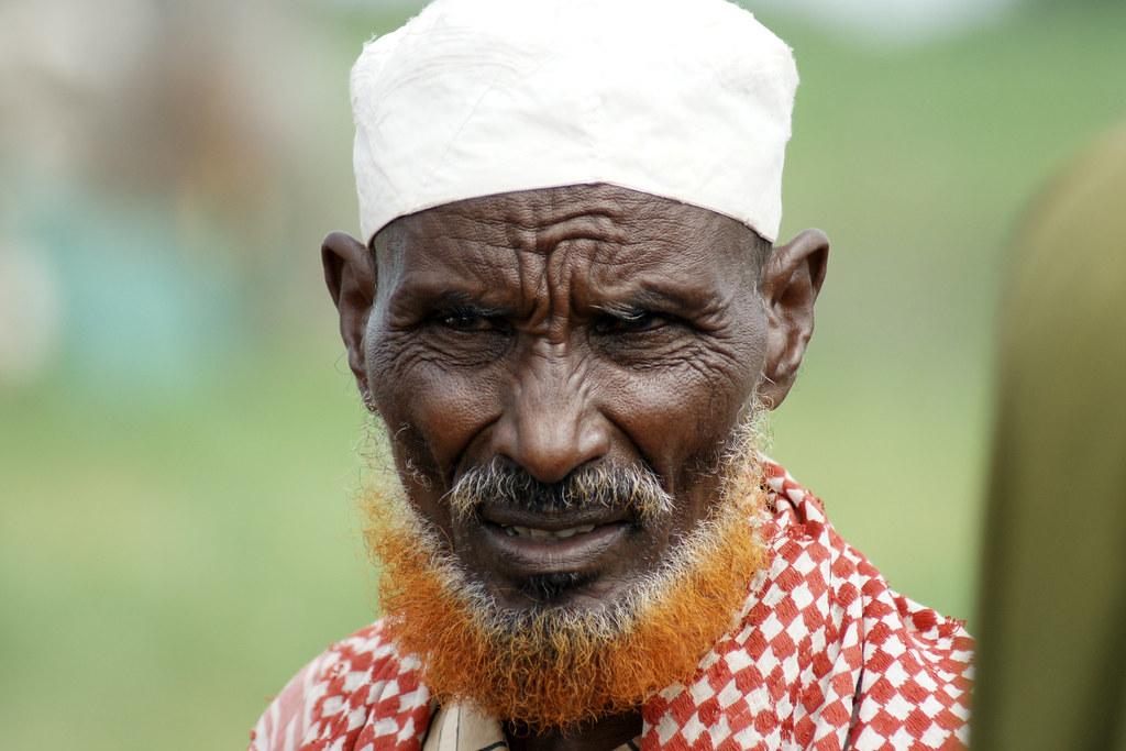 Somali Elder With Henna Beard Wajir Ne Kenya Jerome Taylor Flickr