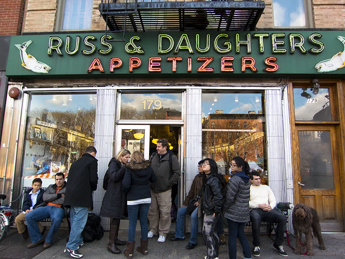 Russ And Daughters New York Restaurant