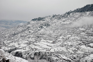 Snowfall in Kashmir | by Asif Saeed [....DOCUMENTING PAKISTAN...]