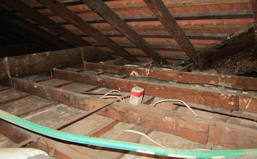 Roof without insulation | by Daniel Bowen