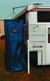 Bivouac Buddy Shower Enclosure | by Northstar Truck Campers